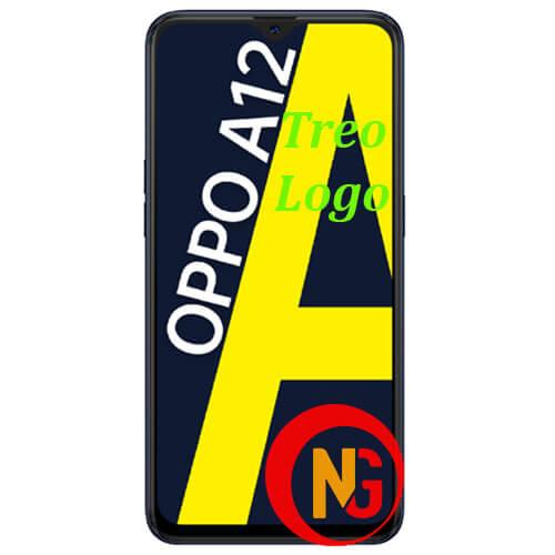 Oppo A12 treo logo