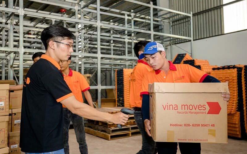 Công ty TNHH Dịch vụ và lưu trữ Vina