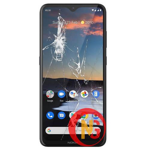 Mặt kính Nokia bị bể vỡ, rạn nứt