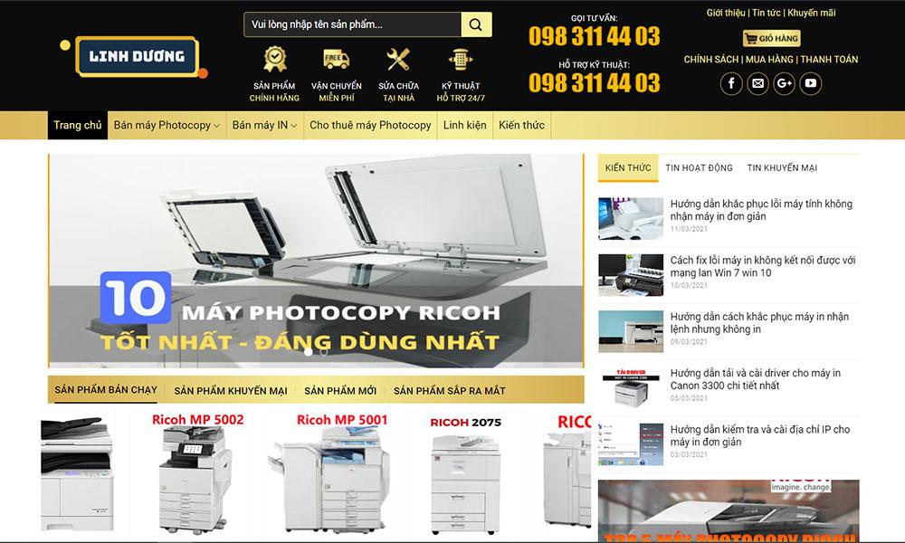 Lý do nên chọn mua máy photocopy cũ giá rẻ tại Linh Dương