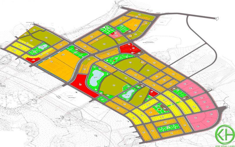 Chi tiết bản đồ quy hoạch 1/500