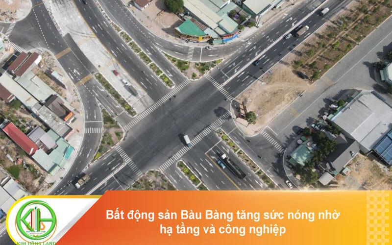 Bàu Bàng đang chú trọng xây dựng cơ sở hạ tầng
