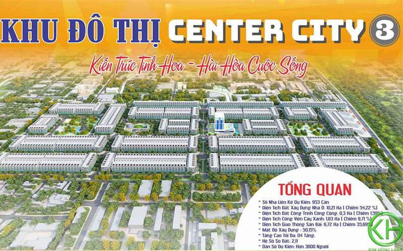Dự án khu đô thị Center City 3