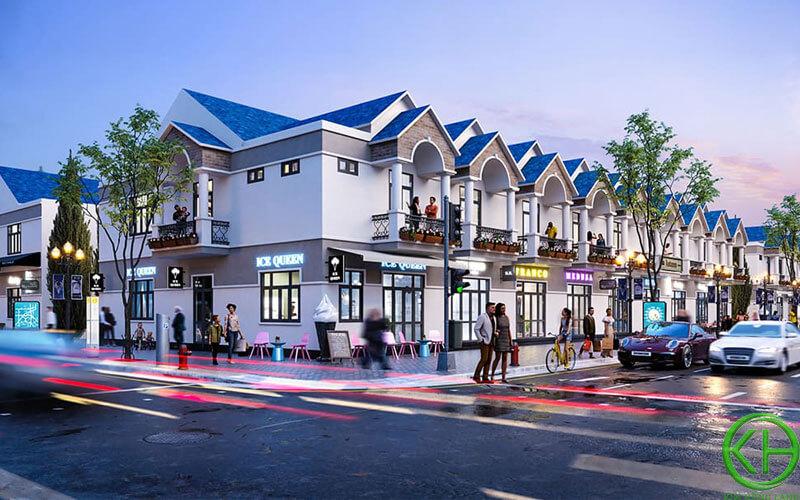Nhà phố thương mại New Land