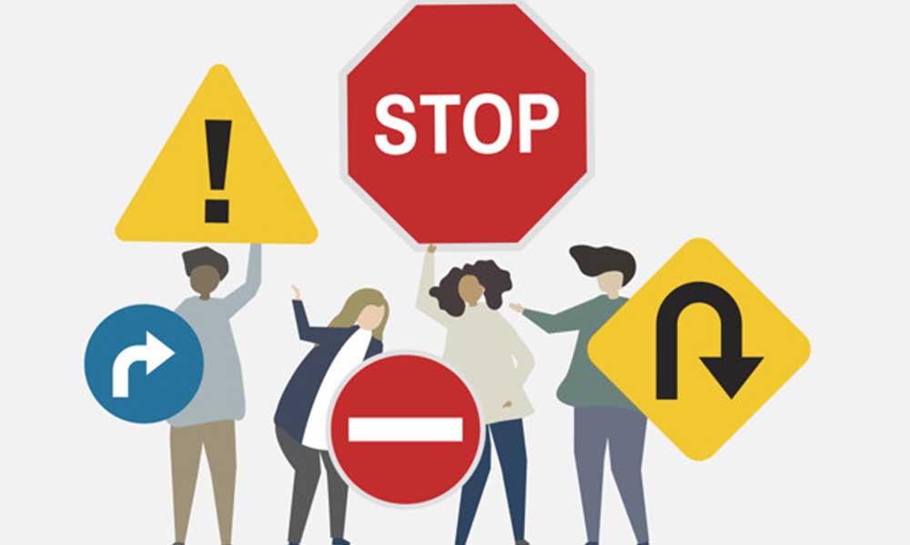 Khái niệm biển báo giao thông